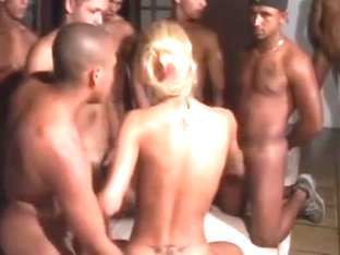 Amazing shemale clip with Gangbang scenes