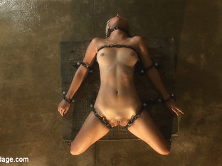 Chloe Camilla in The Sweeter They Look, The Funner They Are Chained to a Box - DeviceBondage