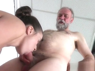 Teen Harlot Anita Bellini Lets Old Man Screw Her