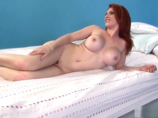 Mesmerizing redhead with big boobs Lylith Lust has a passion for cock