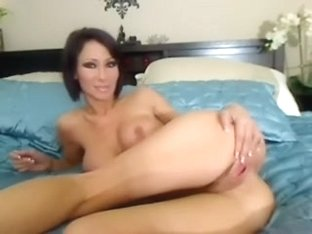 A homemade masterbation session with a sexy busty babe