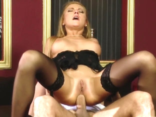 Exotic pornstar Gilda Roberts in crazy lingerie, facial sex movie