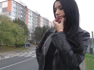 Polish kurwa Ania Kinski is in need of money and cock