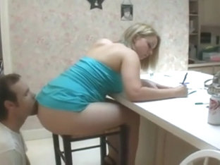 Lovely princess financial slave licks ass