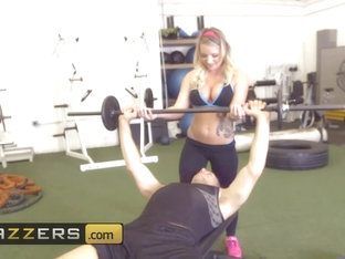 Brazzers - Big TITS in Sports - Cali Carter Mick Blue - Calis Special Workout