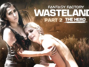 April ONeil,Kenna James in Fantasy Factory: Wastelands (Episode 2) - GirlsWay
