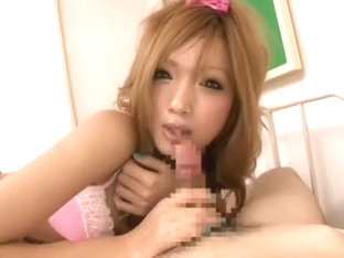 Exotic Japanese slut in Amazing Blowjob, /Futanari JAV video