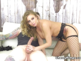 Britney Amber  Johnny Goodluck in Hot And Wild Britney - WildOnCam