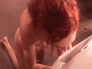 Hottest pornstar Audrey Hollander in amazing group sex, redhead sex video