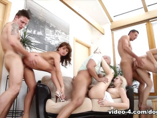 Best pornstar Bella Anne in Horny Group sex, Medium Tits adult scene