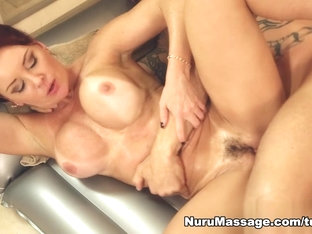 Fabulous pornstars Derrick Pierce, Janet Mason in Horny Blowjob, Redhead adult clip