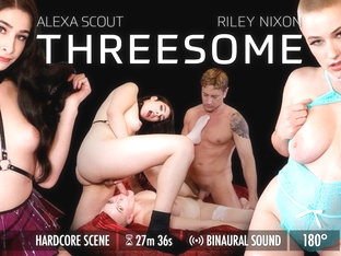 Alexa Scout in The Threesome - GroobyVR