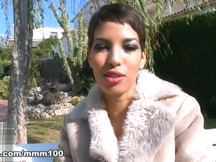 Jasmine Arabia in Sexy Video Interview With Jasmine Arabia  - MMM100