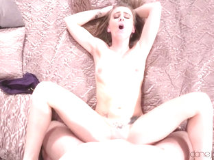 Carmel Anderson & Michael Fly in Petite British Girl Pov Blowjob - DaneJones