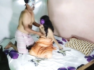 Fucking My Indian Maid In yellow Saree