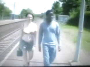 black guy walking with huge bulge in jeans