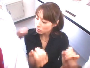 Amazing Japanese slut Karen Kisaragi in Fabulous Secretary JAV video