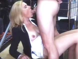 Blonde Milf Screwed Up At The Pawnshop For Some Cash