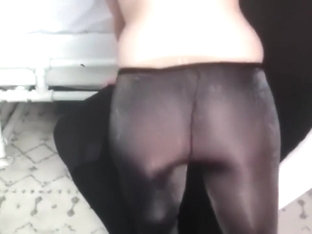 lovely pantyhose layers goddess in tease and denial her slave has to suffer