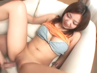 Best Japanese chick Meguru Kosaka in Exotic Cunnilingus, Close-up JAV scene