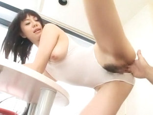 Hottest Japanese whore Ai Takeuchi in Horny Babysitters, Wife JAV video
