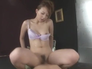Incredible Japanese whore Jessica Kizaki in Crazy Couple, Lingerie JAV clip