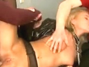 Angelina Love fetish double penetration anal and throated SMG