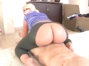 Banker Julie Cash Sucks And Straddles Hung Client