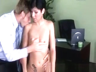 Jayden Williams Gets Oiled Up By Her Doctor