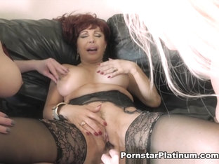 Sexy Vanessa in Lesbian Threesome - PornstarPlatinum