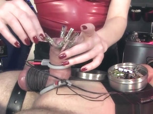 Cbt Electrosex Session For Useless Sub