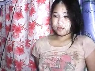 sexy floozy thai bar girl huge smutty on web camera