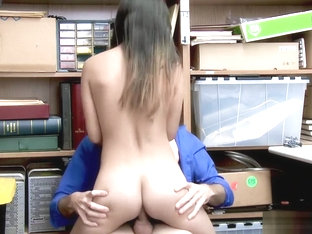 LP Officer doggystyle fuck Jasmine Gomez pussy