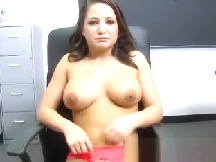 ThisGirlSucks Sexy brunette babe Charity Bangs handjob blowjob co