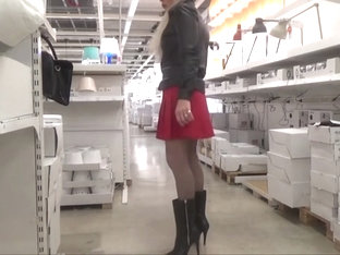 stefani boots sexy chastised sissy in stocking ikea