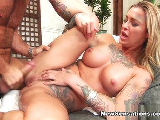Chad White & Kleio Valentien in Gushing Together Is Kleio's Favorite Hobby - NewSensations