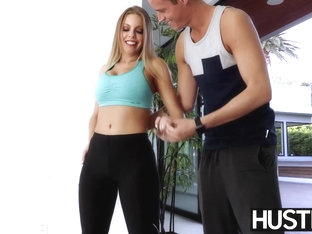 Athletic MILF Britney Amber riding sturdy stud cock