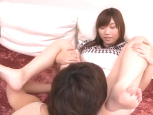 Fabulous Japanese model Honomi Uehara in Crazy Girlfriend, Cunnilingus JAV clip