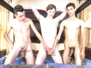 The Tight Twink Is A Cock Whore! - Connor Jacobs, Holden Ross  Justin Cross - BoyCrush