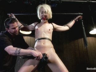 Dylan Ryan in Tall blonde slut suffers from nipple torture, sadistic beatings, and extreme squirti.