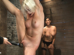 We Yank A Leg Up, Cane Herthen Make Her Cum Until She's Totally Physically  Emotionally Wrecked - .