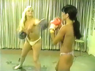 Cal Supreme Santana vs Candi Topless Boxing