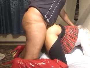 Crossdresser fucked