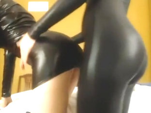 Double Shiny Catsuit JOI Cum Countdown