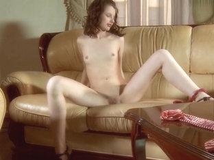 Tiny Teen Rita Ulyanova Makes Herself Horny And Wet