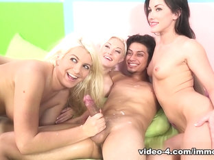 Best pornstars Scott Lyons, Bella Maree, Jennifer White in Crazy Cumshots, Medium Tits xxx scene