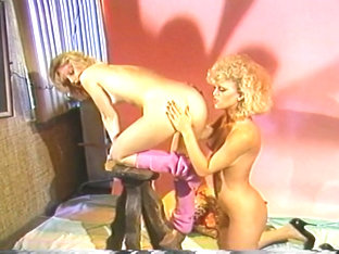 Vintage Blondes Suck And Fuck Mustached Man