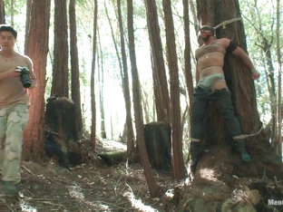 Bound Gods Dom Josh West Gets Edged Deep in the Woods