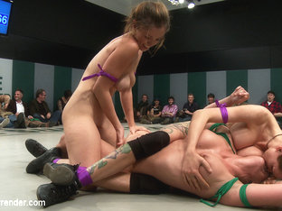 4 Tough Bitches Battle In Non-Scripted Live Tag Team Actiondevastating Submission Holds, Brutal - .