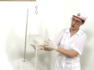 Russian Enema At Gyno Clinic